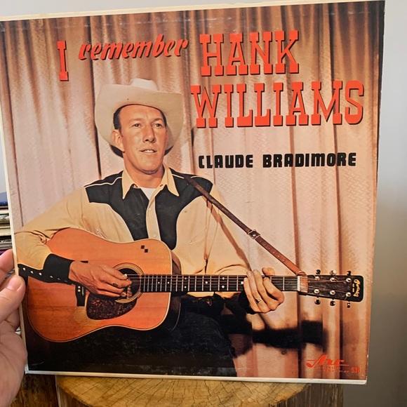 VINTAGE / Record / I remember Hank Williams